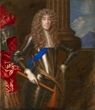 Jacques II, roi d'Angleterre, par Gibson